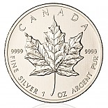 Silbermünze Maple Leaf 1 oz 2015